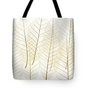 Layered Leaves Tote Bag by Kelly Redinger