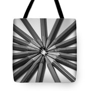 Lead Pencils Isolated On White Tote Bag
