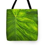 Leafy Green Tote Bag