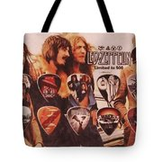 Led Zeppelin Art Tote Bag