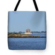 Ledge Lighthouse  Tote Bag