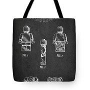 Lego Toy Figure Patent - Dark Tote Bag