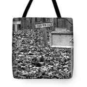 Letchworth Village Cemetery Tote Bag