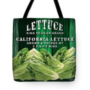 Lettuce Farm Tote Bag