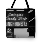 Lexington Candy Shop In Black And White Tote Bag