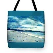 Lido Beach Evening Tote Bag