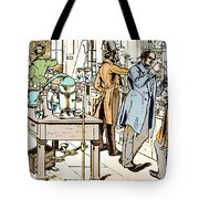 Liebigs Laboratory At Giessen, 1842 Tote Bag