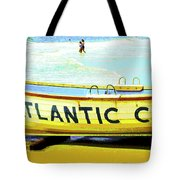 Lifeboat Atlantic City New Jersey Tote Bag
