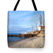 Light And Beach Tote Bag