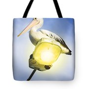 Light Pelican Tote Bag