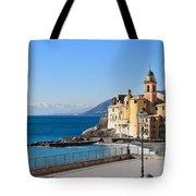 Liguria . Camogli Tote Bag