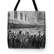 Lincoln Assassination, 1865 Tote Bag
