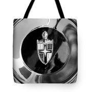 Lincoln Capri Wheel Emblem Tote Bag by Jill Reger
