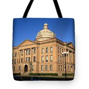 Lincoln Illinois - Courthouse Tote Bag