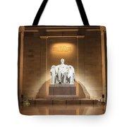 Washington Dc - Lincoln Memorial Tote Bag