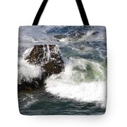 Linda Mar Beach Surf Tote Bag