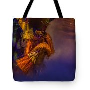 Lion King Dancers Tote Bag