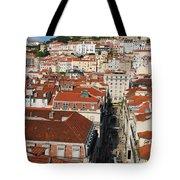 Lisbon Cityscape Tote Bag