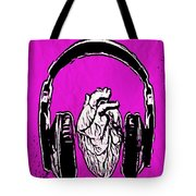Listen 2 Your Heart Tote Bag