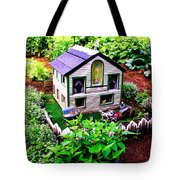 Little Garden Farmhouse Tote Bag