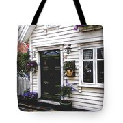 Little House In Norway Tote Bag