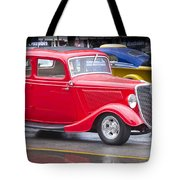 Little Red Coup Tote Bag