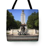 Littlefield Fountain - University Of Texas Tote Bag