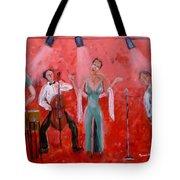 Live Jazz Tote Bag by Mounir Mounir