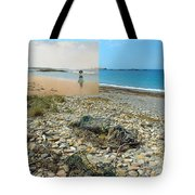 Lloyd's Bathing Beach At Sakonnet Point In Little Compton Ri Tote Bag