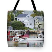 Lobster Fishing Boats Tote Bag