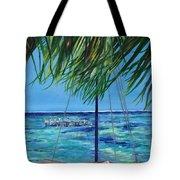 Lokal Flava Caye Caulker Belize Tote Bag