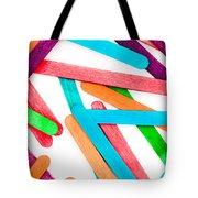 Lollipop Sticks Tote Bag