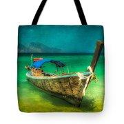 Longboat Thailand Tote Bag