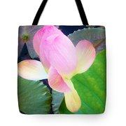 Lotus Lilly Tote Bag