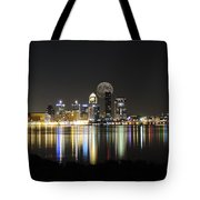 Louisville With The Moon Tote Bag