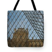 Louvre In Paris France Tote Bag