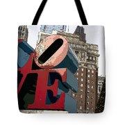 Love In The Park Tote Bag