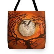 Love Under The Moon Tote Bag