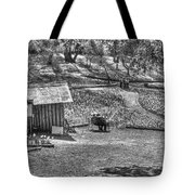 Lovers On Daffodil Hill 2  Tote Bag