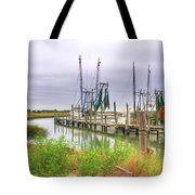 Lowcountry Shrimp Dock Tote Bag