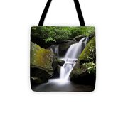 Lower Grotto Falls Tote Bag