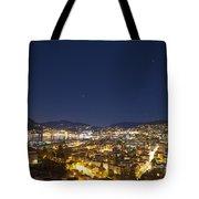 Lugano By Night Tote Bag