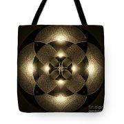 Luminous Mandala Tote Bag
