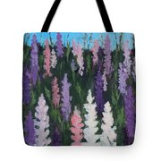 Lupines - Art By Bill Tomsa Tote Bag