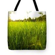 Lush Grass Tote Bag