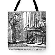 Lydia Darrah, 1777 Tote Bag