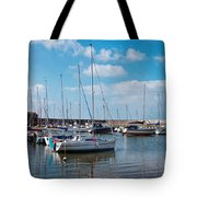 Lyme Regis Harbour 2 Tote Bag