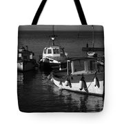Lynmouth Harbour In Devon Tote Bag
