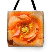 Macro Image Of A Rose Tote Bag