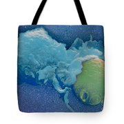 Macrophage Englufing Yeast Cell Tote Bag